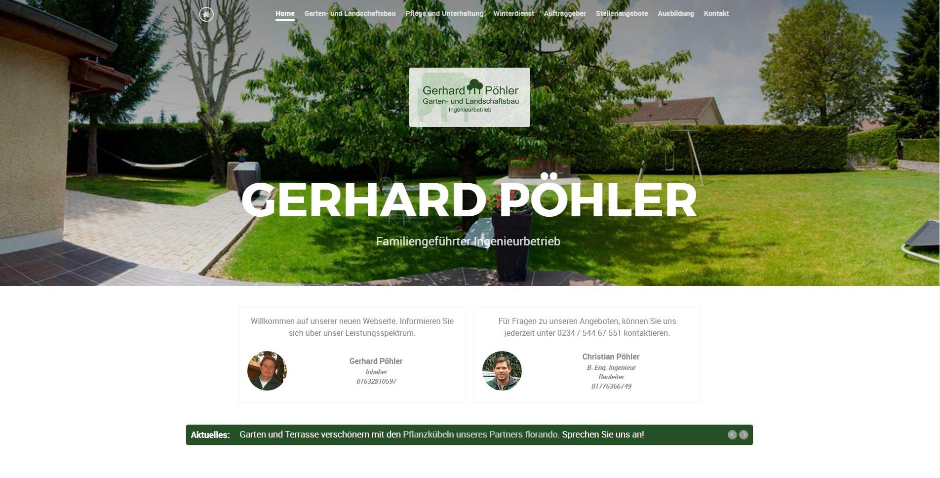 Gerhard p hler garten und landschaftsbau - Garten und landschaftsbau bochum ...